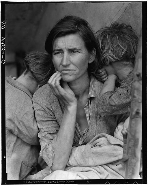 dorothy lange migrant mother